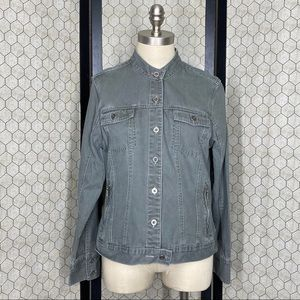 French Cuff Button Up Jacket